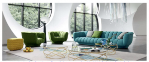 Mobiliario: colección de sofás de Roche Bobois